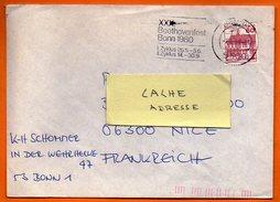 ALLEMAGNE 1980  BEETHOVENFEST  Lettre Entière N° DD 456