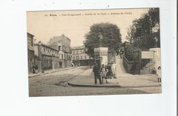 PARIS RUE FRAGONARD 49 SORTIE DE LA GARE AVENUE DE CLICHY  (PETITE ANIMATION) - District 17