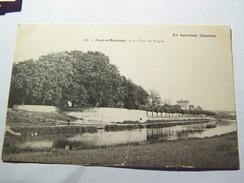 Cp1107 Tom6 PONT A  MOUSON La Tour De Prague   La Lorraine Illustrée - Pont A Mousson