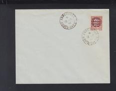 France Envelope FFI Liberation Annemasse 1944 - Liberation