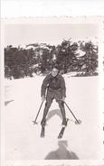 26151 Deux 2  Photo Chréa Chrea Bilda Algerie Station De Ski Neige -noel 1936 -Rennes 35 - - Sports