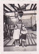 26153 4 Quatre Photo - Melesse 35 -1939- Rennes 35 -fut  Mouton Velo Enfant - Lieux