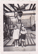 26153 4 Quatre Photo - Melesse 35 -1939- Rennes 35 -fut  Mouton Velo Enfant