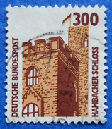 GERMANY FREIMARKEN CITIES AND PLACES HAMBACHER SCHLOSS 300 Pf.1988 Mic.1348 - USED