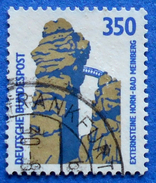 GERMANY FREIMARKEN CITIES AND PLACES EXTERNSTEINE HORN-BAD MEINBERG 350 Pf.1989 Mic.1407 A - USED
