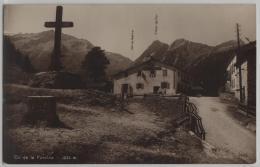Col De La Forclaz (1530 M) - Photo: Perrochet-Matile No. 9046 - VS Valais