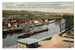 CPA 89 - SENS (Yonne) - L'Yonne, La Pointe Nord De L'Ile Et La Montagne Saint Martin- Coll. J. D. - Sens