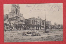 Longwy  --  Kirche  --  Stadthaus  --Res Inf Rgt Nr 77  --  Felspost Nr 94 --  17/4/1915 - Longwy