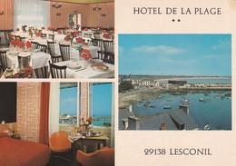 29-----LESCONIL---hôtel De La Plage--voir 2 Scans - Lesconil