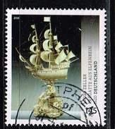 Bund 2016, Michel# 3228 O     Schätze Aus Deutschen Museen - Fregatte Aus Elfenbein - BRD