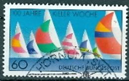 BRD Mi. 1132 Gest. Kieler Woche Segelboote