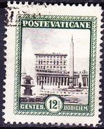 Vatikan - Petersplatz Mit Vatikanischem Palast (MiNr. 23) 1933 - Gest. Used Obl.