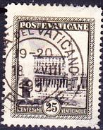 Vatikan - Petersplatz Mit Vatikanischem Palast (MiNr. 25) 1933 - Gest. Used Obl.
