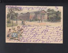 Hungary Stationery 1895 To Austria - Postal Stationery