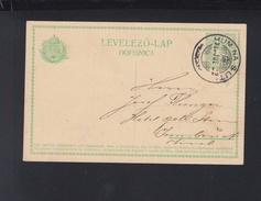 Hungary Slovenia Stationery Hum Na Sutli 1913 - Slovenia