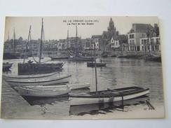 Cp1107 Tom7 LE CROISIC , Le Port Et Les Quais Barques - Le Croisic