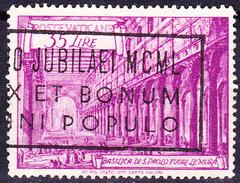 Vatikan - S. Paolo (MiNr. 156) 1949 - Gest. Used Obl.