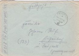 Feldpost WW2: From Kowel, Ukraine - Stab I Grenadier-Regiment 473  FP 36217A P/m  24.6.1944 - Cover Only  (T9A28) - Militaria