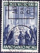 Vatikan - Papst Pius XII. öffnet Die Heilige Pforte (MiNr. 166) 1949 - Gest. Used Obl.