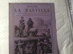 Histoire De La Bastille Par Auguste Marquet, Publicité, édition V BUNEL - Reclame