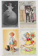 Lot N° 91 De 100 CPA Fantaisies Illustrateurs Déstockage Pour Revendeurs Ou Collectionneurs  PORT GRATUIT FRANCE - Postales