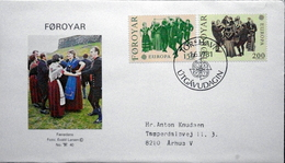 Faroe Islands  1981   FEUROPA    OLK COSTUMES   MiiNr.63-64  FDC   ( Lot 6286  )