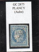 Aube - N° 60A (ld) Obl GC 2875 Plancy