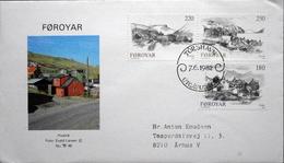 Faroe Islands  1982  MiNr.72-74    FDC    ( Lot  6283  )