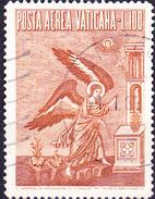 Vatikan - Flugpost Erzengel Gabriel; Mosaik Von Pietro Cavallini (MiNr. 248) 1956 - Gest. Used Obl.