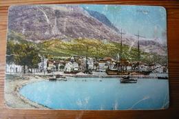 Croatia, Dalmacija, Makarska, Port, Ship, Boat, Us, 1924 - Croatia