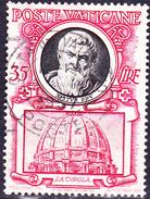 Vatikan - Sixtus V. (1521-1590); Kuppel Des Michelangelo (MiNr. 198) 1953 - Gest. Used Obl.