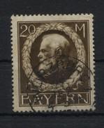 GERMANY BAVARIA Bayern - 1914 KING LUDWIG III 20M Used