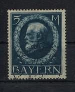 GERMANY BAVARIA Bayern - 1914 KING LUDWIG III 5M Used