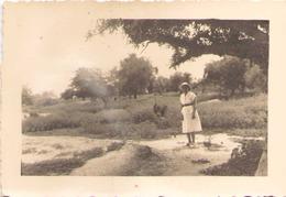 NIGER MARADI L AUTRUCHE ET MOI SEPTEMBRE 1951 9 X 6 CM - Africa