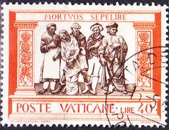 "Vatikan - Barmherzigkeit ""Tote Begraben"" (MiNr. 353) 1960 - Gest. Used Obl."