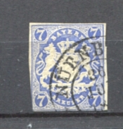 GERMANY BAVARIA Bayern - 21d, Gestempelt Weissmain 1868 Used
