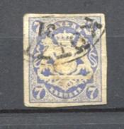 GERMANY BAVARIA Bayern - 21  1868 Used