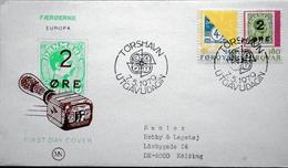 Faroe Islands  1979 EUROPA   MiNr.43-44       FDC   ( Lot 6262 ) MN COVER