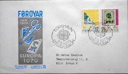 Faroe Islands  1979 EUROPA   MiNr.43-44       FDC   ( Lot 6262 )