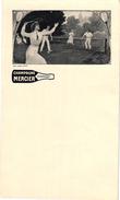 1 Menu  Card C1930  Pub Champagne Mercier EPERNAY IMP Camis Paris Tennis - Tennis