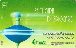 *ITALIA: SE TI GIRA DI SPICCARE (VERDE)(B)* - Scheda NUOVA (MINT) - Fouten & Varianten