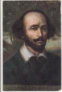 William Shakespeare Vintage Postcard Unused B170301 - Ecrivains