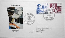Faroe Islands  1983  EUROPA   MiNr.84-85   FDC   ( Lot  6287)