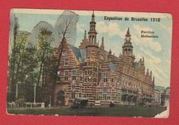 Bruxelles  --  Expo De 1910  -- Pavillon Hollandais  -- 14 Armee Korps  --  25/5/1915 - Expositions Universelles