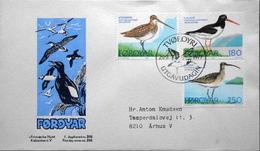 Faroe Islands  1977  Birds      MiNr.28-30  FDC    ( Lot  6287  )