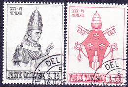 Vatikan - Krönung Von Papst Paul VI. (MiNr. 432/5) 1963 - Gest. Used Obl.