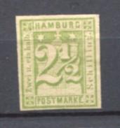 GERMANY HAMBURG 1864 2 1/2 PFG No 9