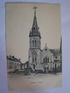 Cp1107 Tom20  CUSSET L église  Charette - Frankreich