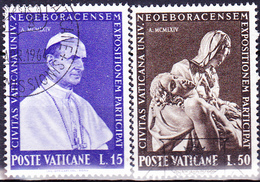 Vatikan - Weltausstellung New York (MiNr. 450/3) 1964 - Gest. Used Obl.