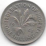 *nigeria 1  Shilling 1961  Km 5   Vf+ - Nigeria